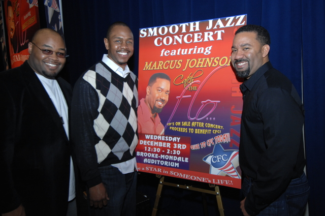 Marcus Johnson Concert at HUD - Smooth Jazz concert featuring [pianist-keyboardist] Marcus Johnson and band mates, HUD Headquarters