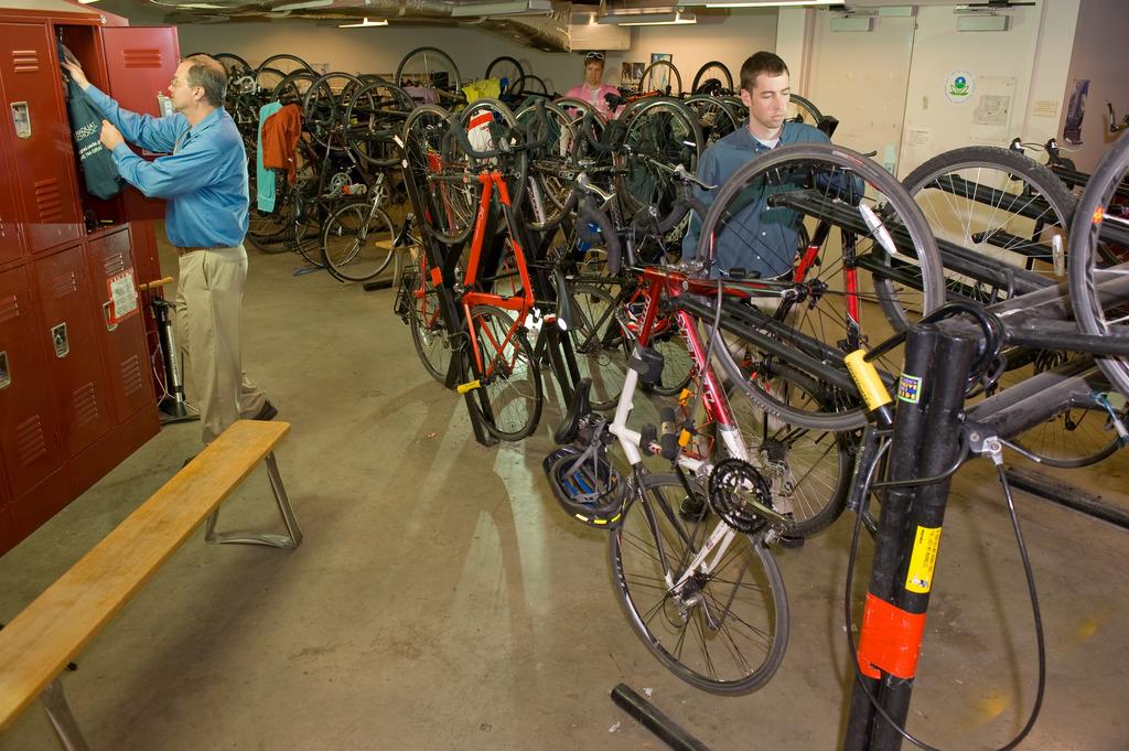 Office of Air and Radiation - EPA Bike Room [412-APD-706-EPABikeRoom2.jpg]