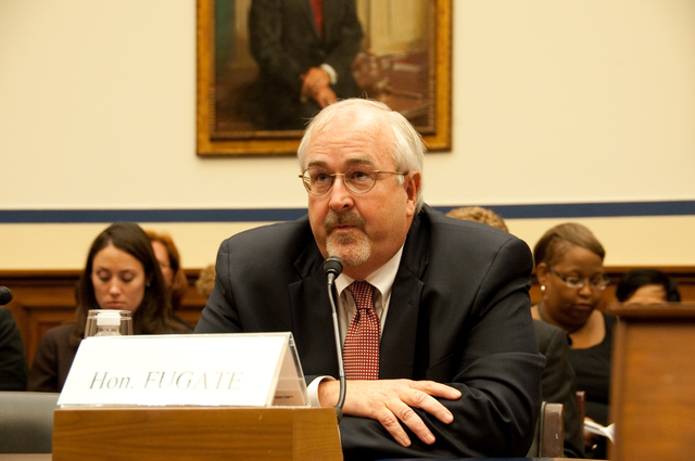 """Washington, D. C. , July 27, 2009 -- FEMA Administrator W. Craig Fugate testifies before the House Committee on Transportation and Infrastructure, Subcommittee of Economic Development, Public Buildings and Emergency Management (aka House T&I). The topic of the hearing was """"Post-Katrina: What it Takes to Cut the Bureaucracy and Assure a More Rapid Response After a Catastrophic Disaster"""".  FEMA/Bill Koplitz"""