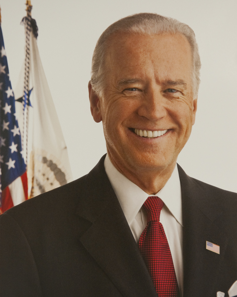 Washington, D. C. , August 12, 2009 -- Vice President Joe Biden, official  portrait. White House Photo - PICRYL Public Domain Image