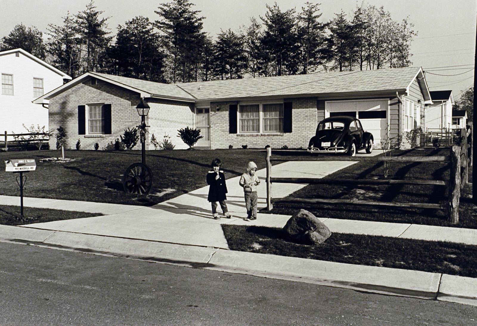 [Select views from across the U.S.]: Sample housing, neighborhoods, 1960's-1970's