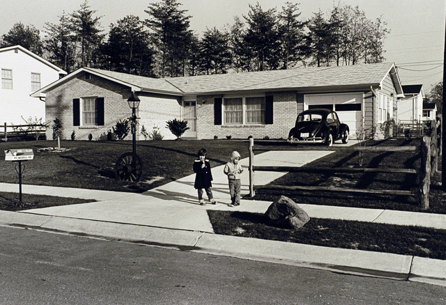 [Select views from across the U.S.]: Sample housing, neighborhoods, 1960's-1970's