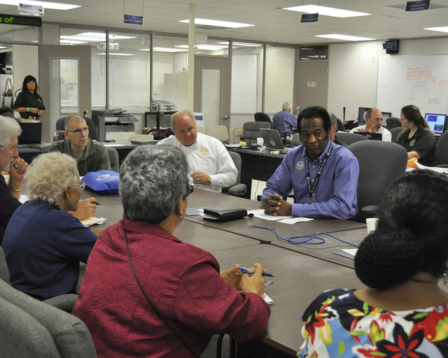Flooding ^ Severe Storm - Memphis, Tenn. , May 24, 2011 -- W. Montague Winfield, Federal Coordinating Officer for FEMA in Tennessee, addresses a meeting for those involved in Housing Assistance.  FEMA is working with the The Joint Task Force for Shelter Transition to meet the needs of displaced citizens. Marilee Caliendo/FEMA