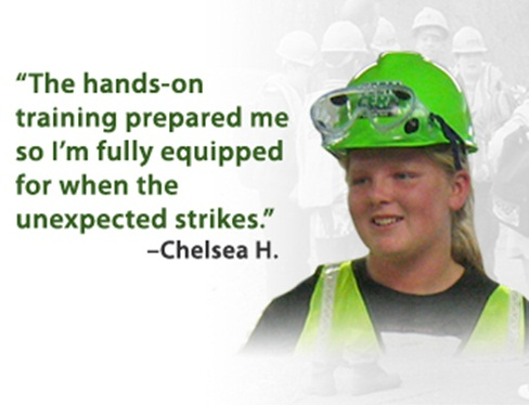Emergency Planning and Security - June 20, 2011 -- Chelsea H. , a member of Teen CERT, explains why the experience was so valuable for her.