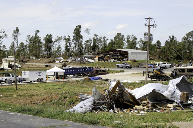 Severe Storm ^ Tornado - Joplin, Mo. , June 25, 2011  -  An industrial area on Kenser Road was damaged by the May 22 tornado. - Photo by Rossyveth Rey-Berríos/FEMA