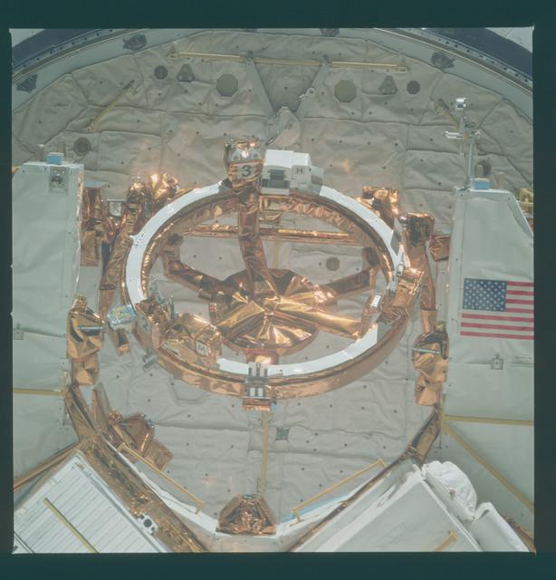 41C-37-1783 - STS-41C - Berth for Solar Maximum Mission satellite