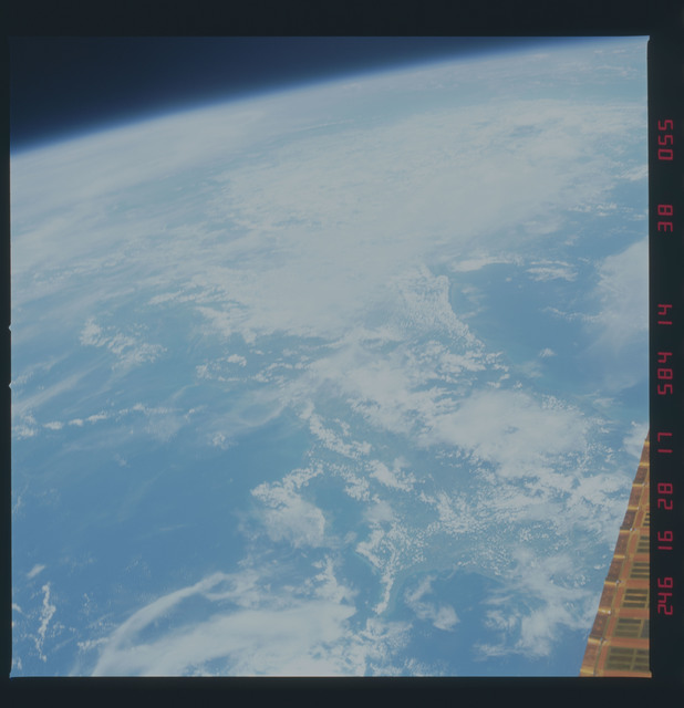 41D-38-055 - STS-41D - Earth observations taken during STS-41D mission