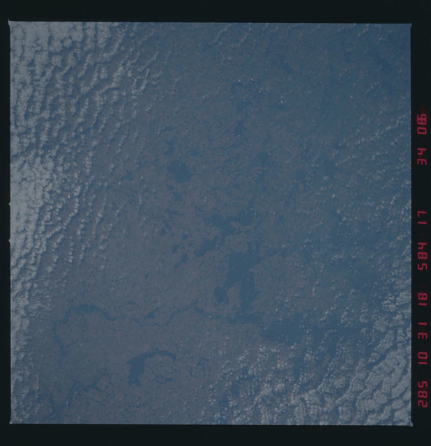 41G-34-086 - STS-41G - STS-41G earth observations