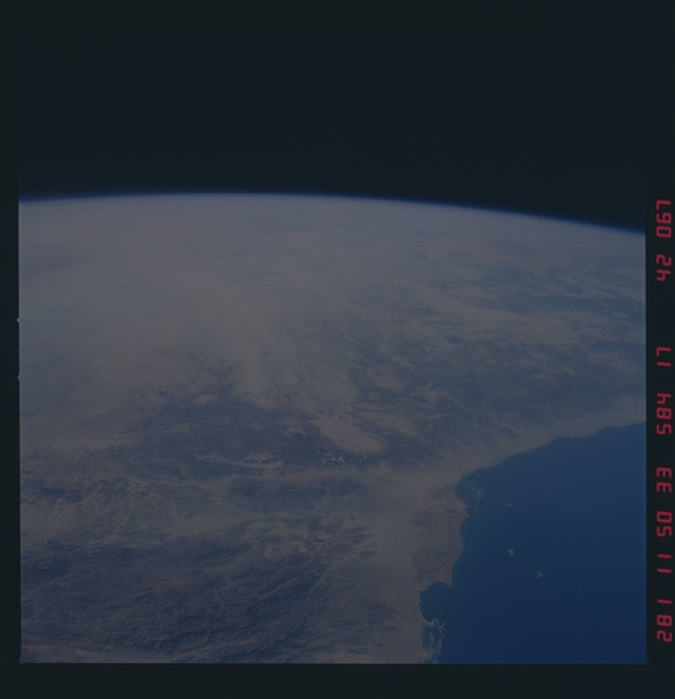 41G-42-067 - STS-41G - STS-41G earth observations