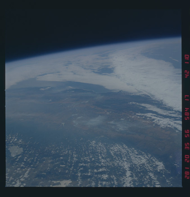 41G-42-110 - STS-41G - STS-41G earth observations