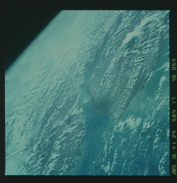 41G-46-054 - STS-41G - STS-41G earth observations