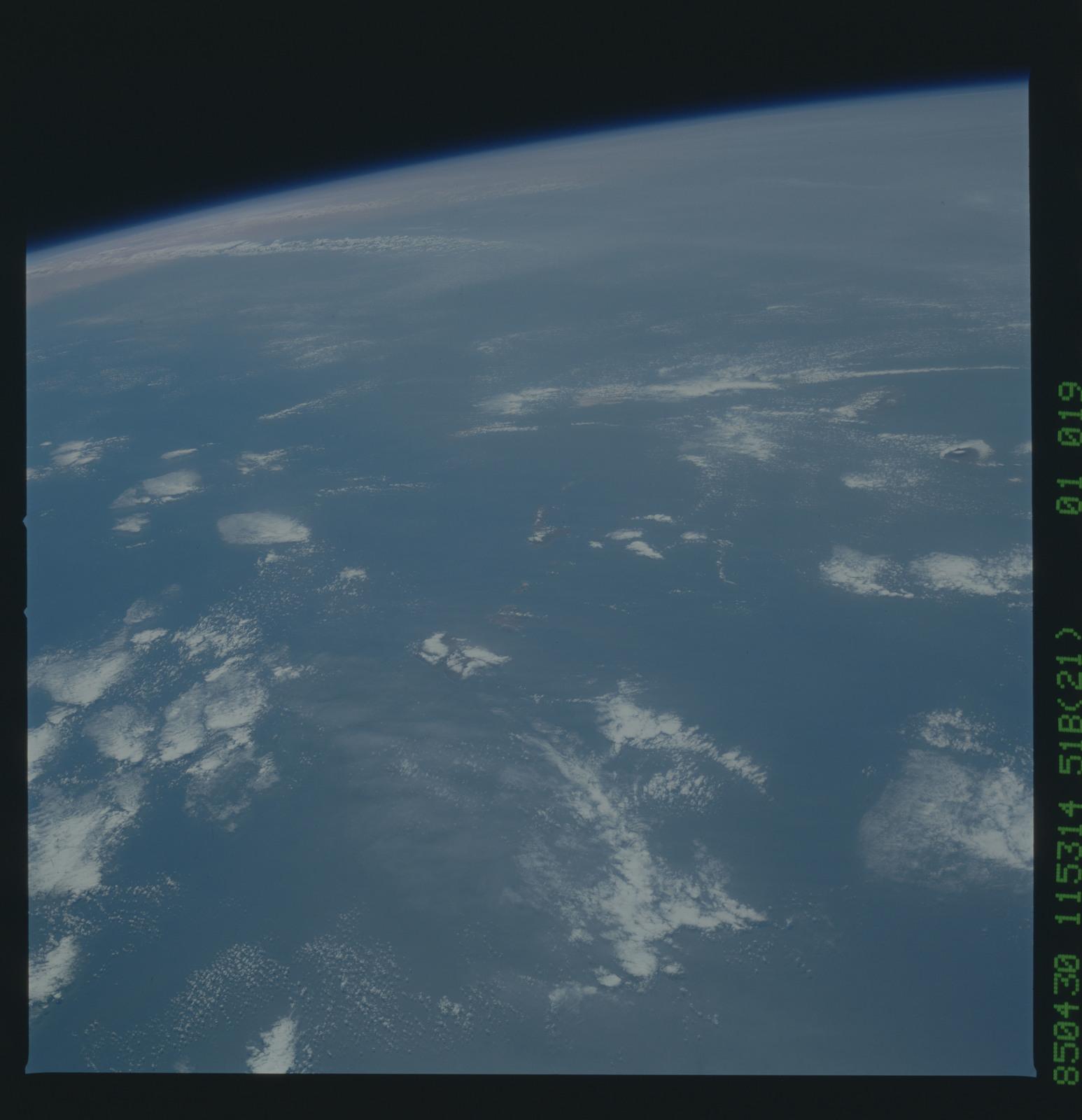 51B-31-068 - STS-51B - 51B earth observation