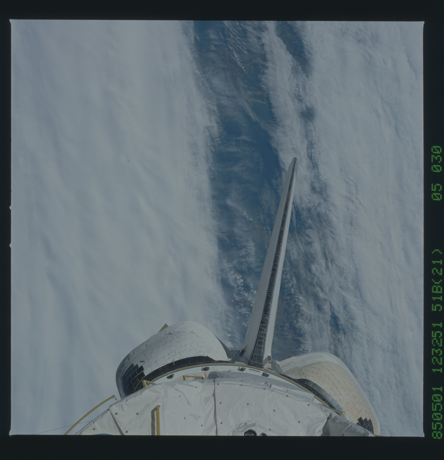 51B-35-030 - STS-51B - 51B earth observation
