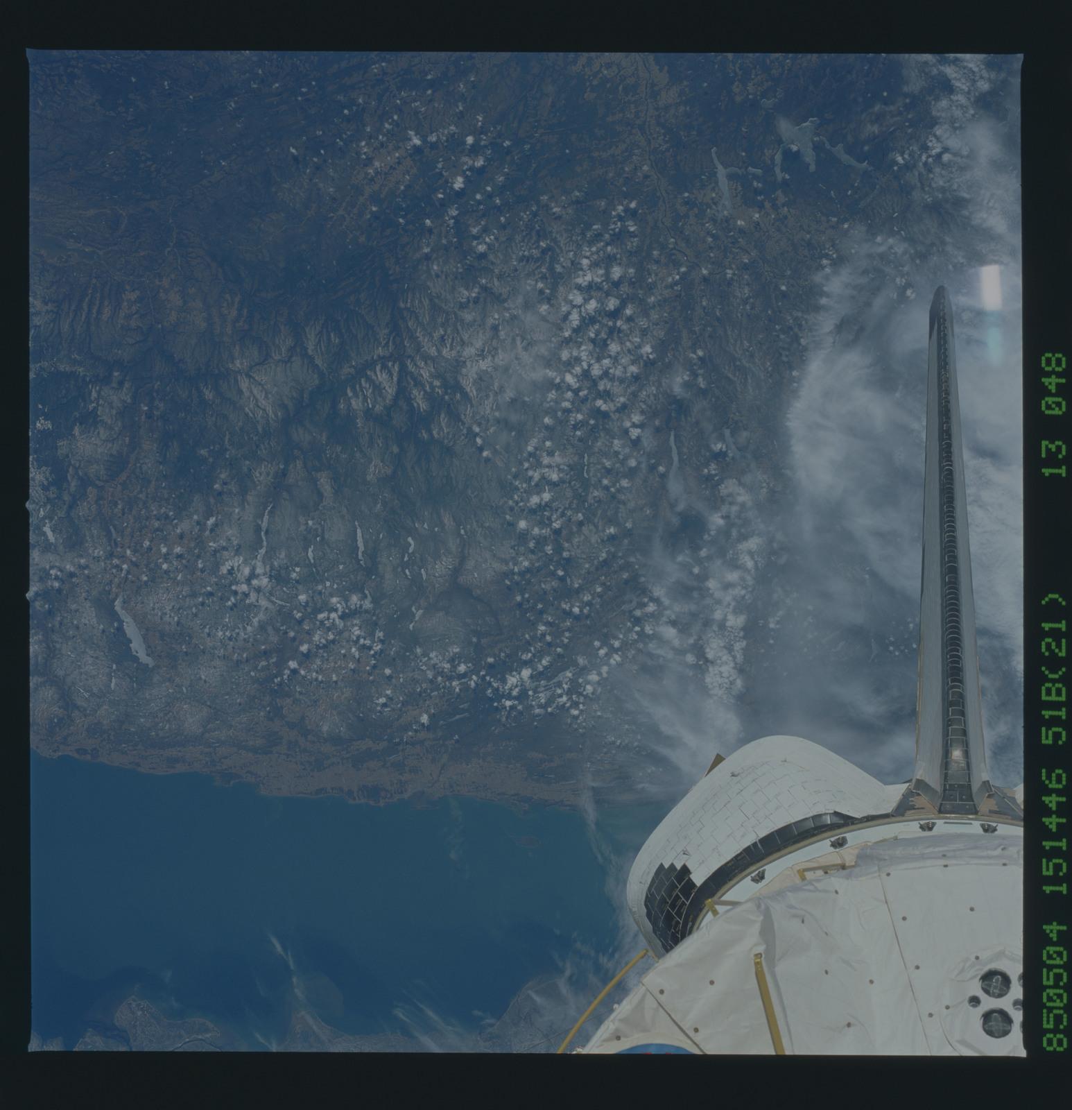 51B-43-048 - STS-51B - 51B earth observation