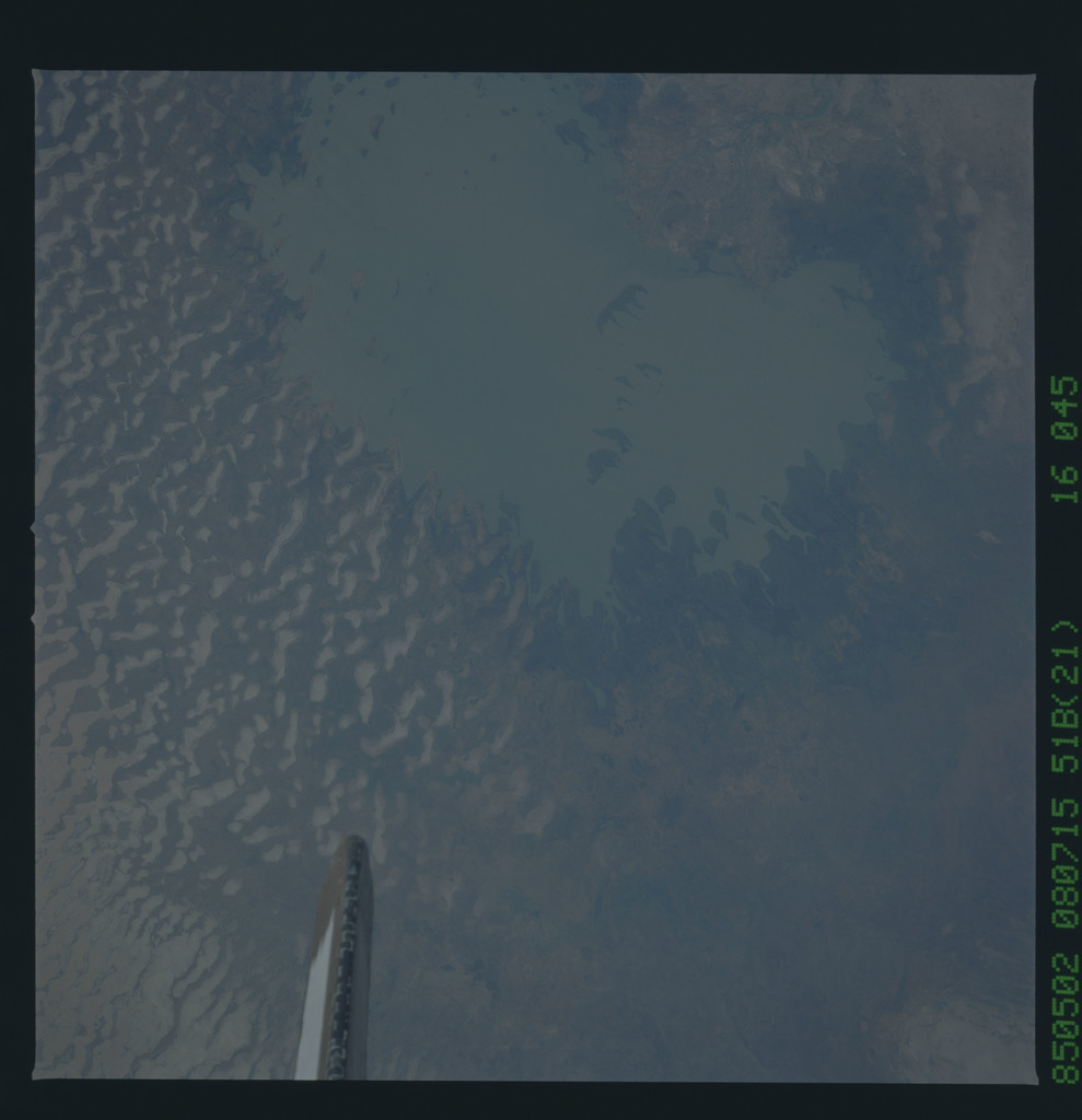 51B-46-045 - STS-51B - STS-51B earth observation