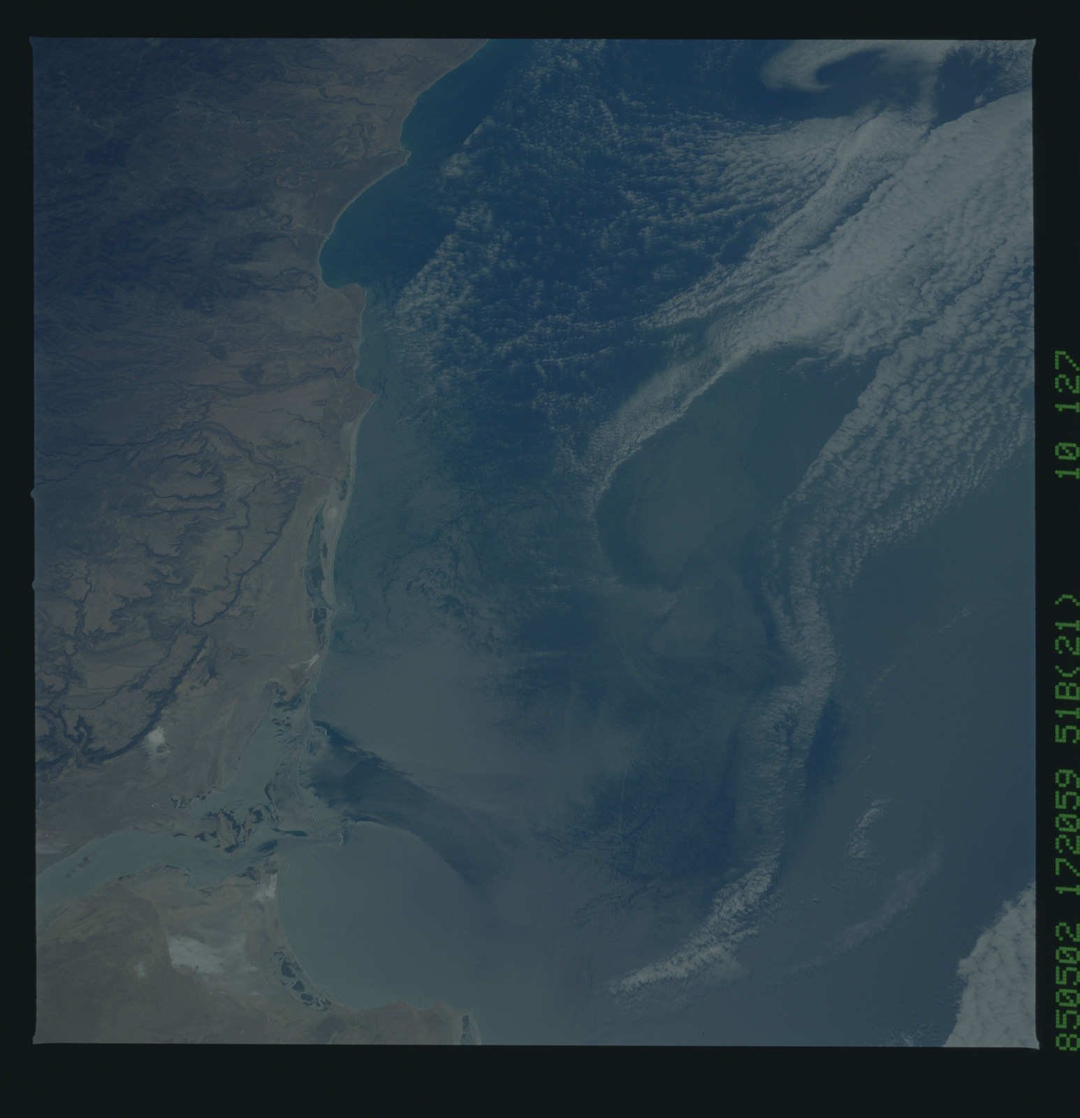 51B-52-025 - STS-51B - STS-51B earth observation