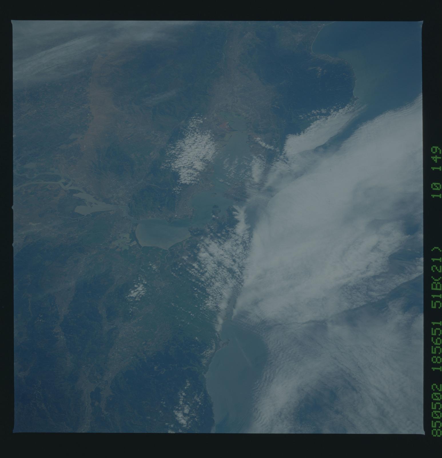 51B-52-047 - STS-51B - STS-51B earth observation