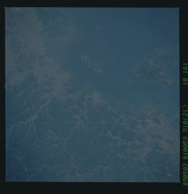 51B-52-079 - STS-51B - STS-51B earth observation