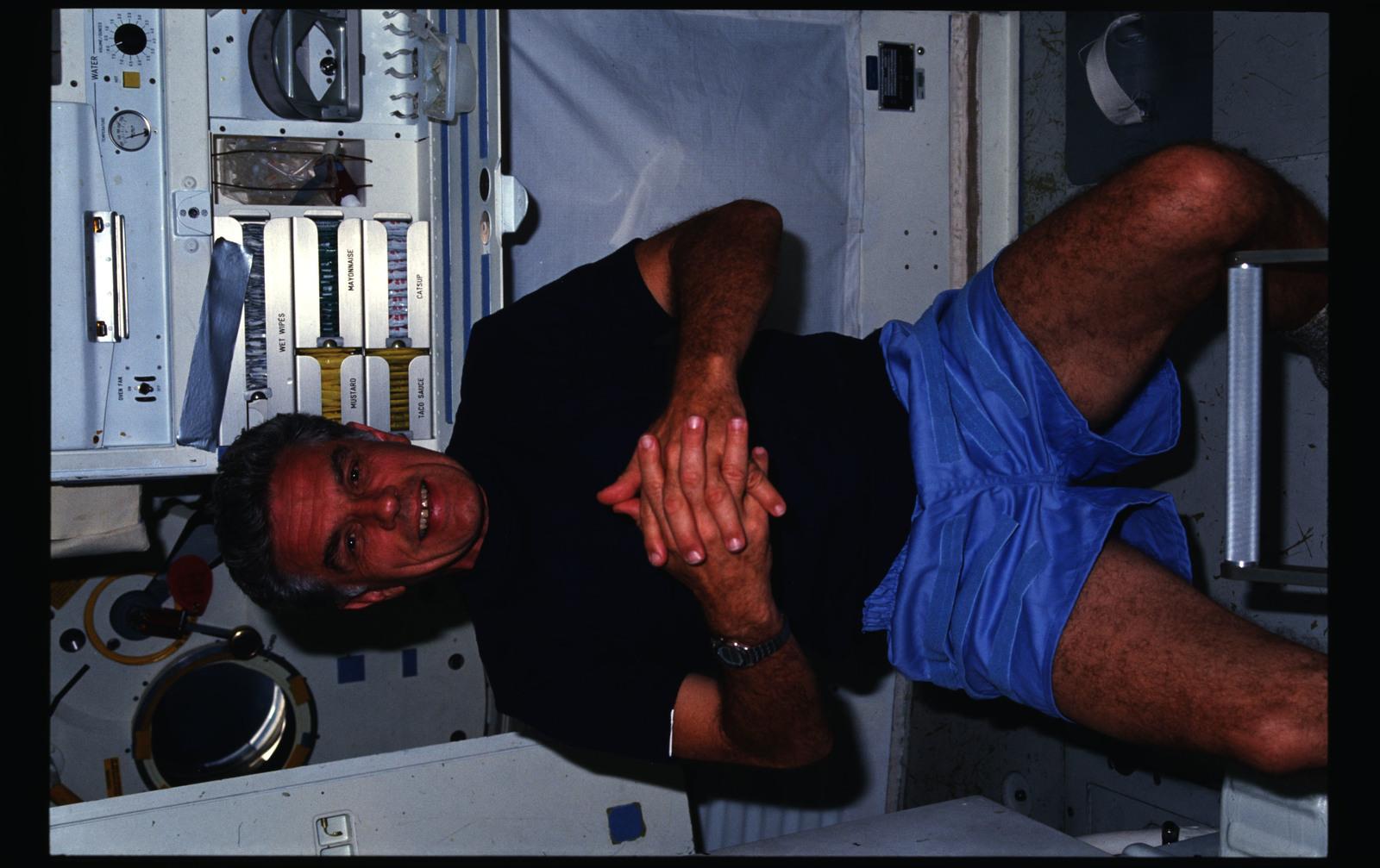 51F-04-013 - STS-51F - 51F crew activities