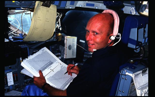 51F-08-010 - STS-51F - 51F crew activities