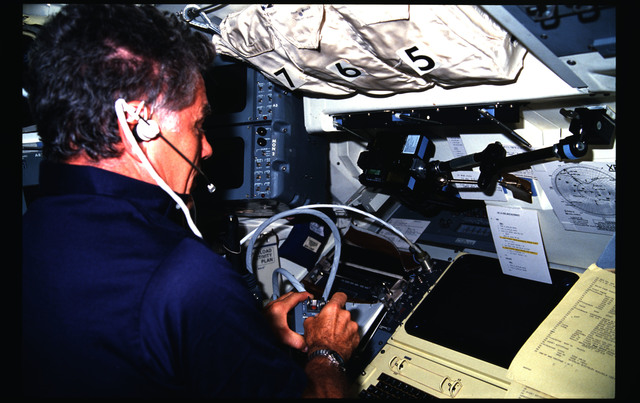 51F-08-015 - STS-51F - 51F crew activities