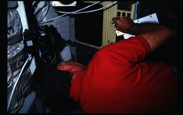 51F-18-013 - STS-51F - 51F crew activities