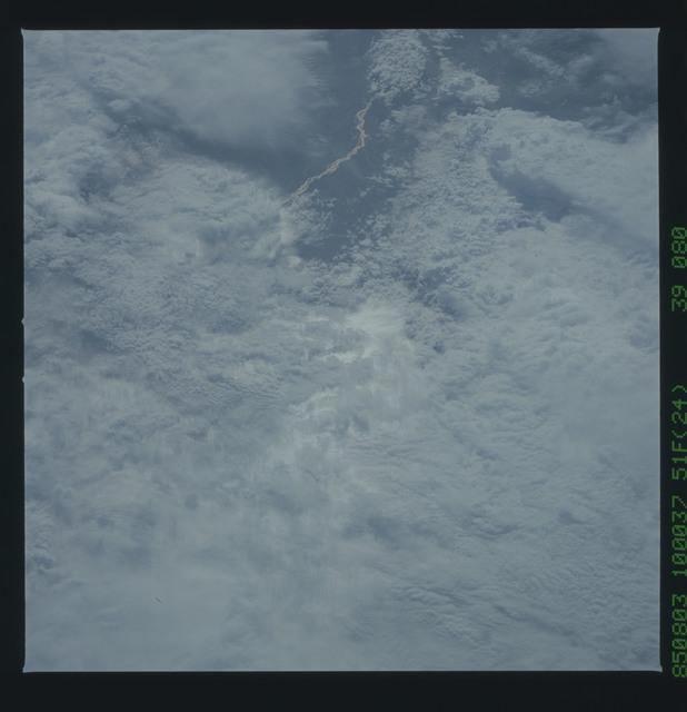 51F-39-080 - STS-51F - 51F earth observations