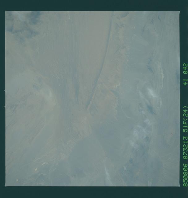 51F-41-042 - STS-51F - 51F earth observations