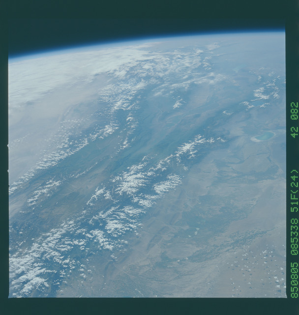 51F-42-082 - STS-51F - 51F earth observations