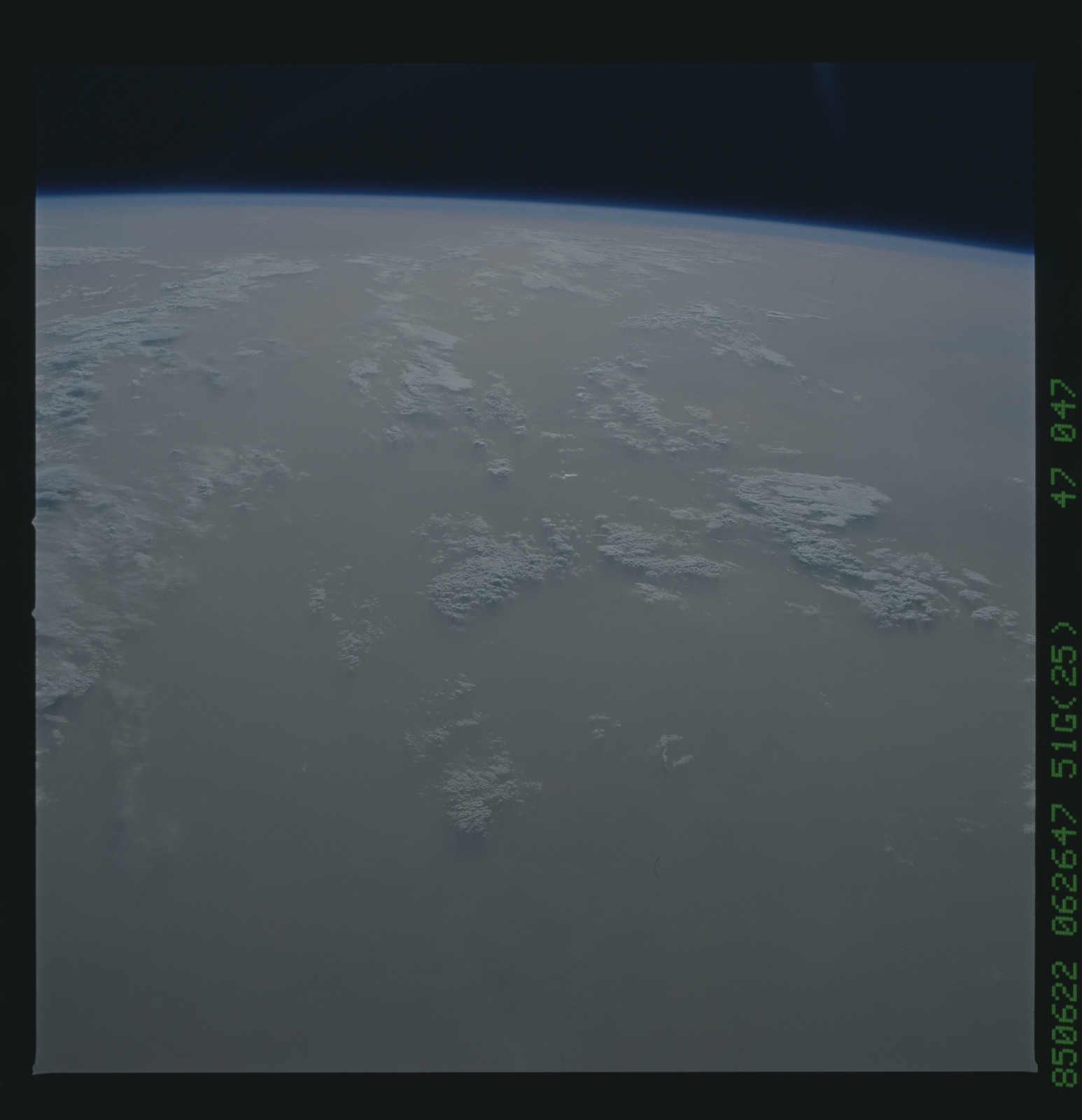 51G-47-047 - STS-51G - STS-51G earth observations
