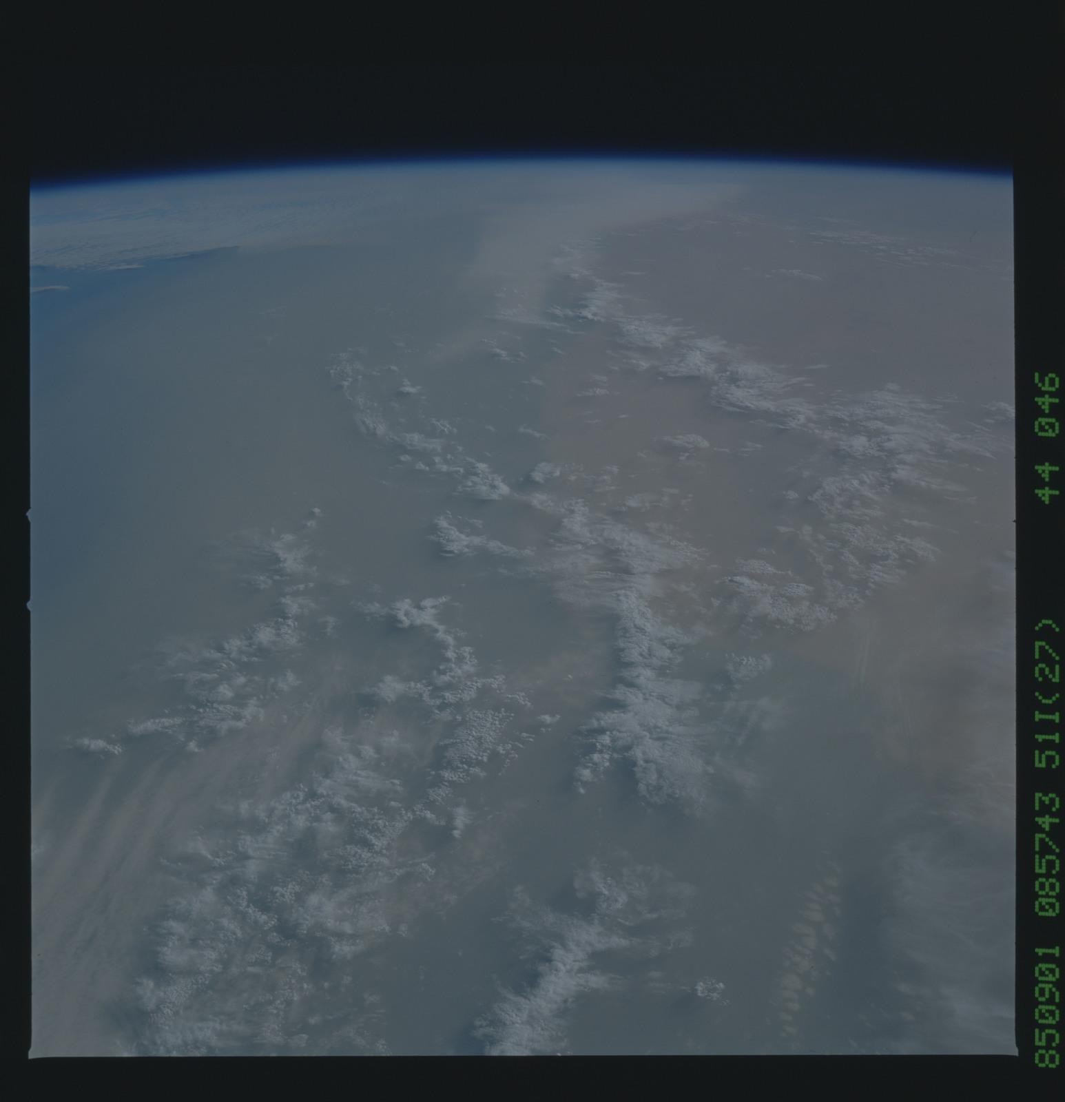 51I-44-046 - STS-51I - STS-51I earth observations
