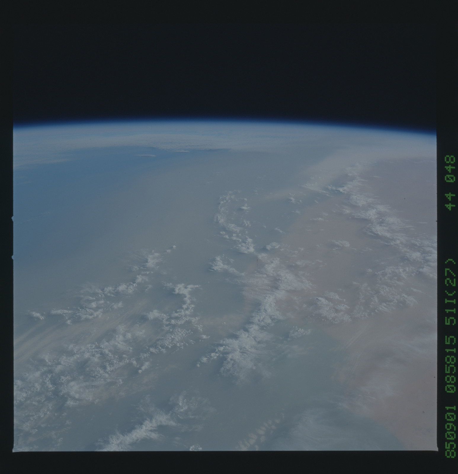 51I-44-048 - STS-51I - STS-51I earth observations