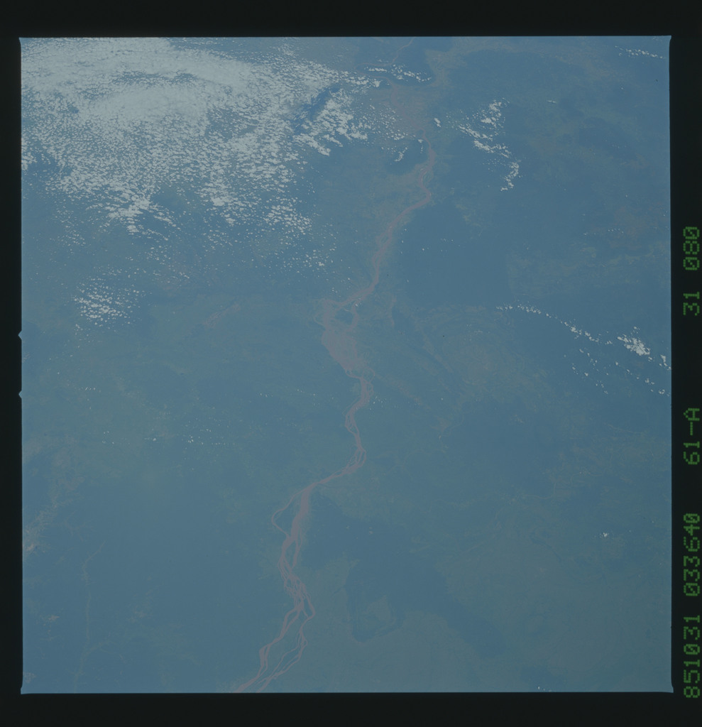 61A-31-080 - STS-61A - STS-61A earth observations