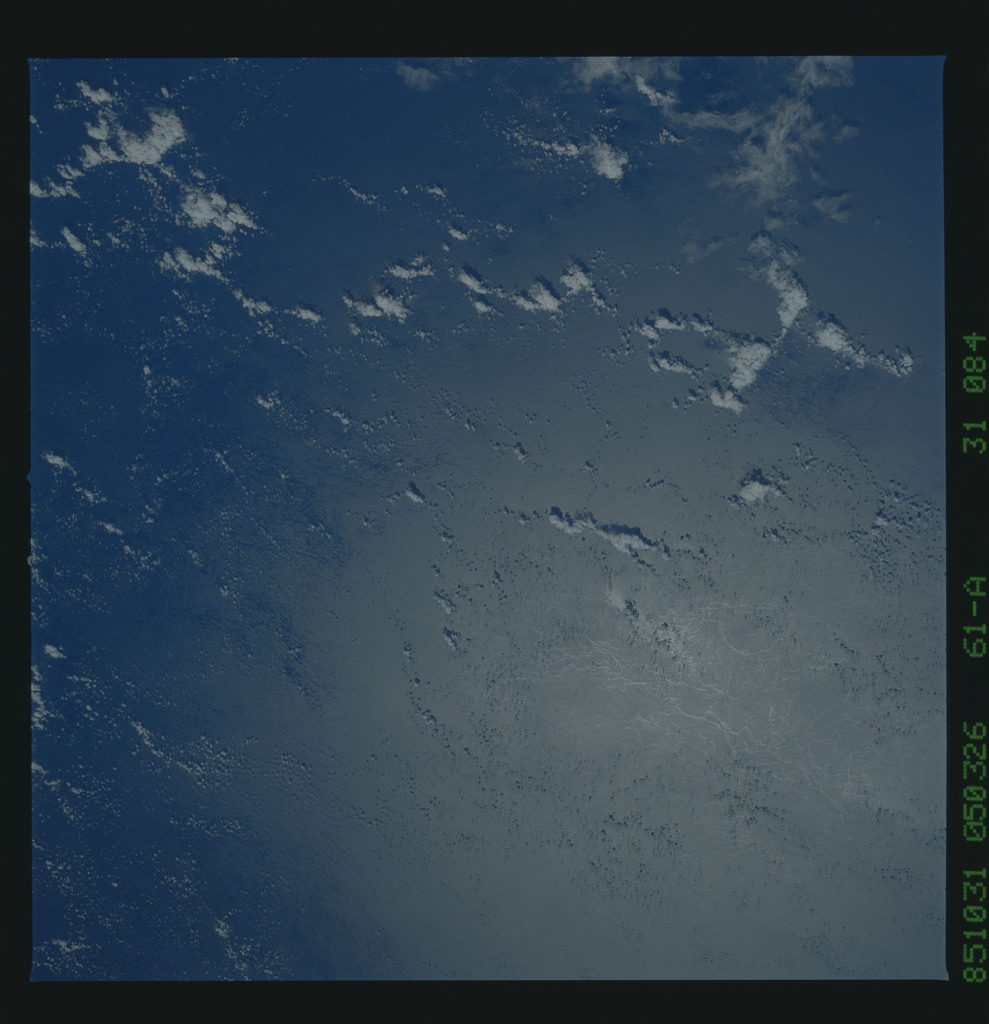 61A-31-084 - STS-61A - STS-61A earth observations