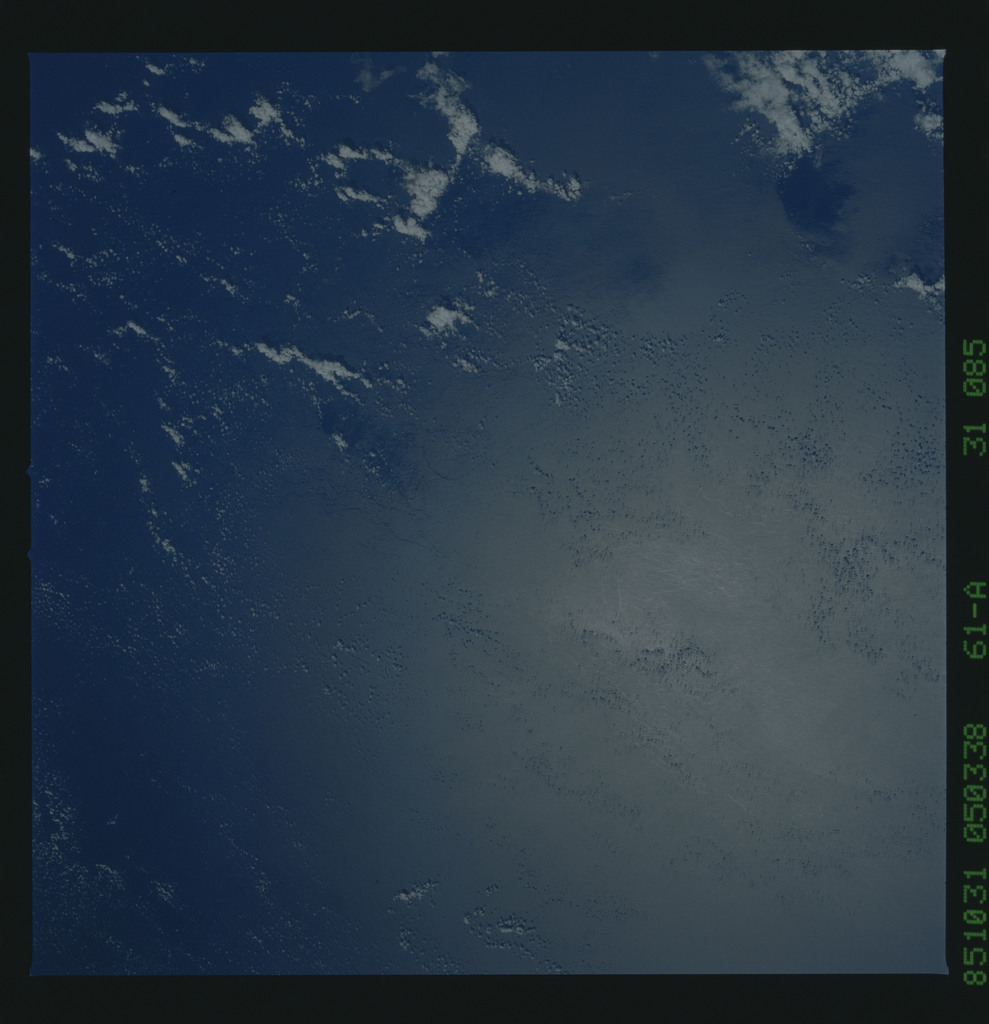 61A-31-085 - STS-61A - STS-61A earth observations