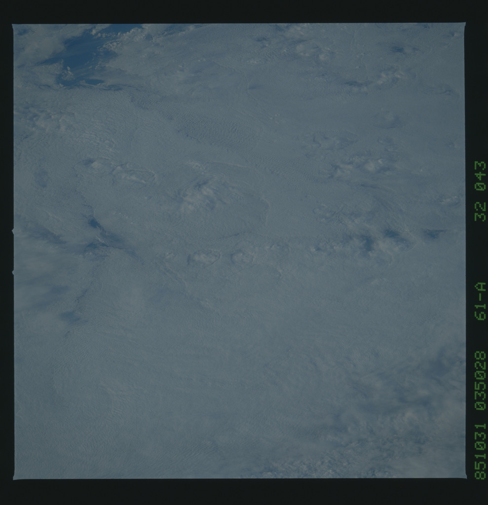 61A-32-043 - STS-61A - STS-61A earth observations