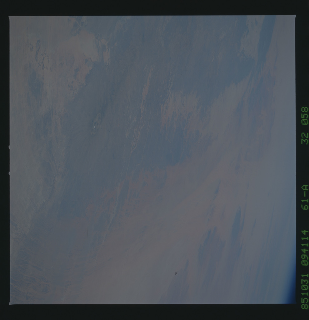 61A-32-058 - STS-61A - STS-61A earth observations