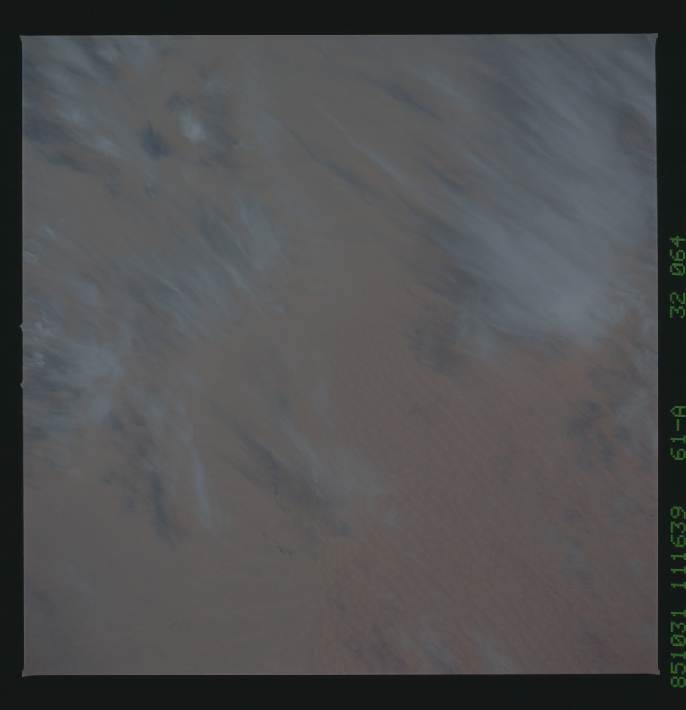 61A-32-064 - STS-61A - STS-61A earth observations
