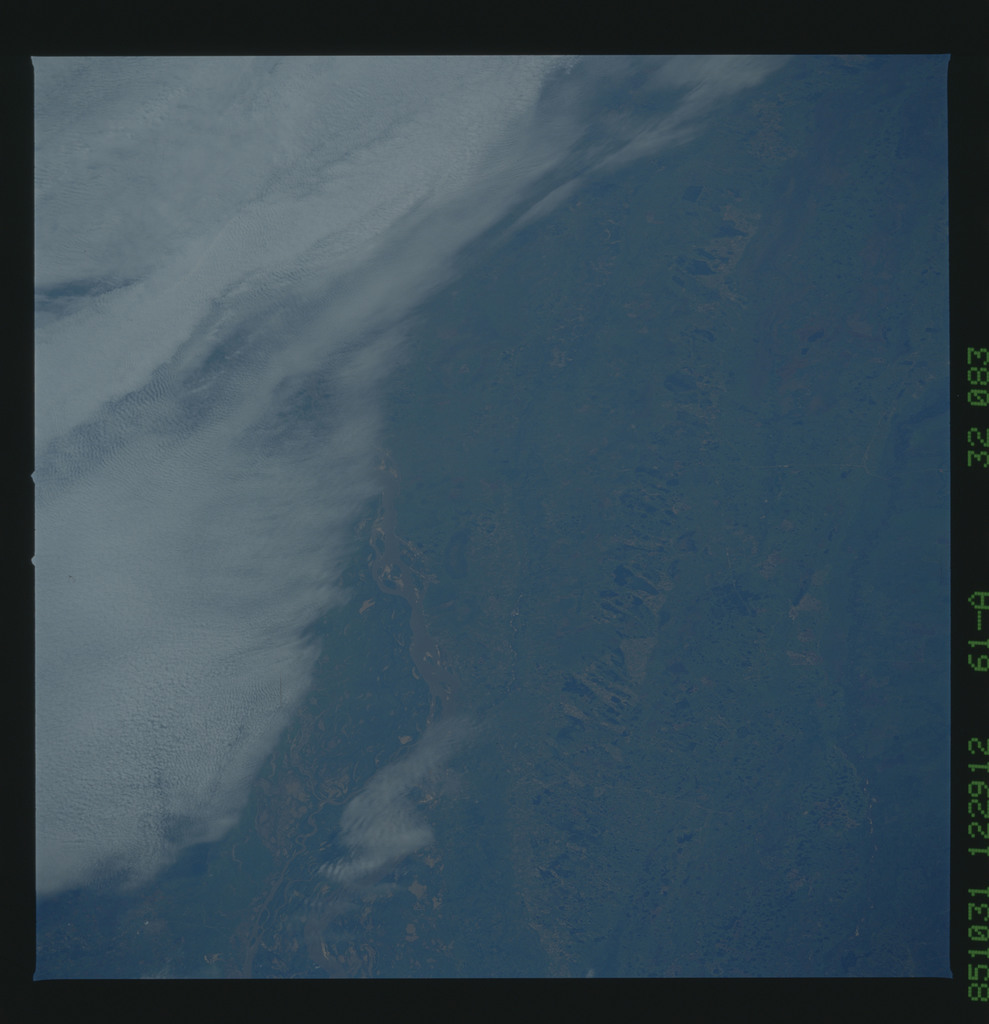 61A-32-083 - STS-61A - STS-61A earth observations