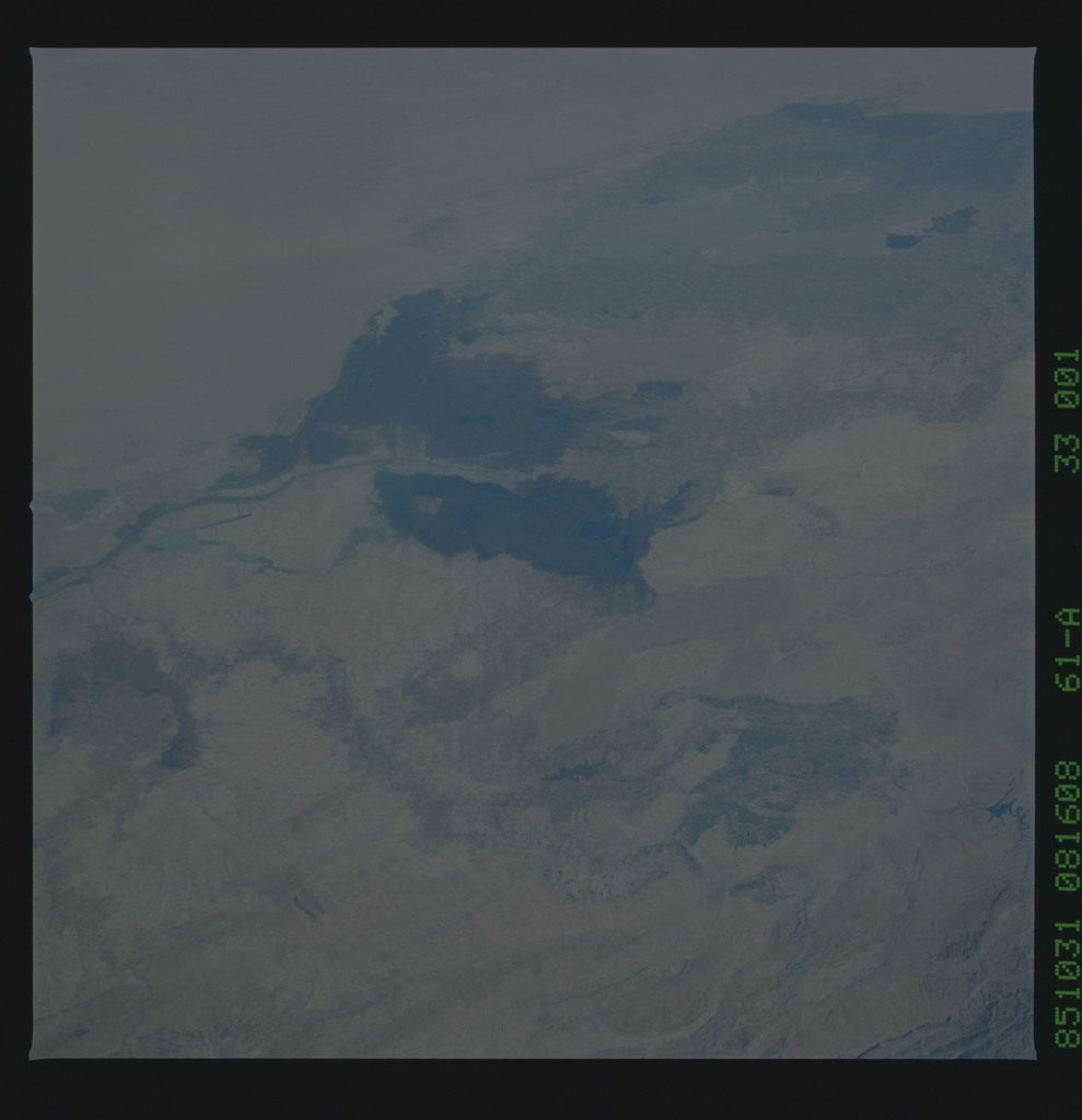 61A-33-001 - STS-61A - STS-61A earth observations