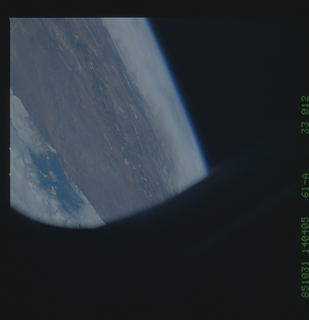 61A-33-012 - STS-61A - STS-61A earth observations