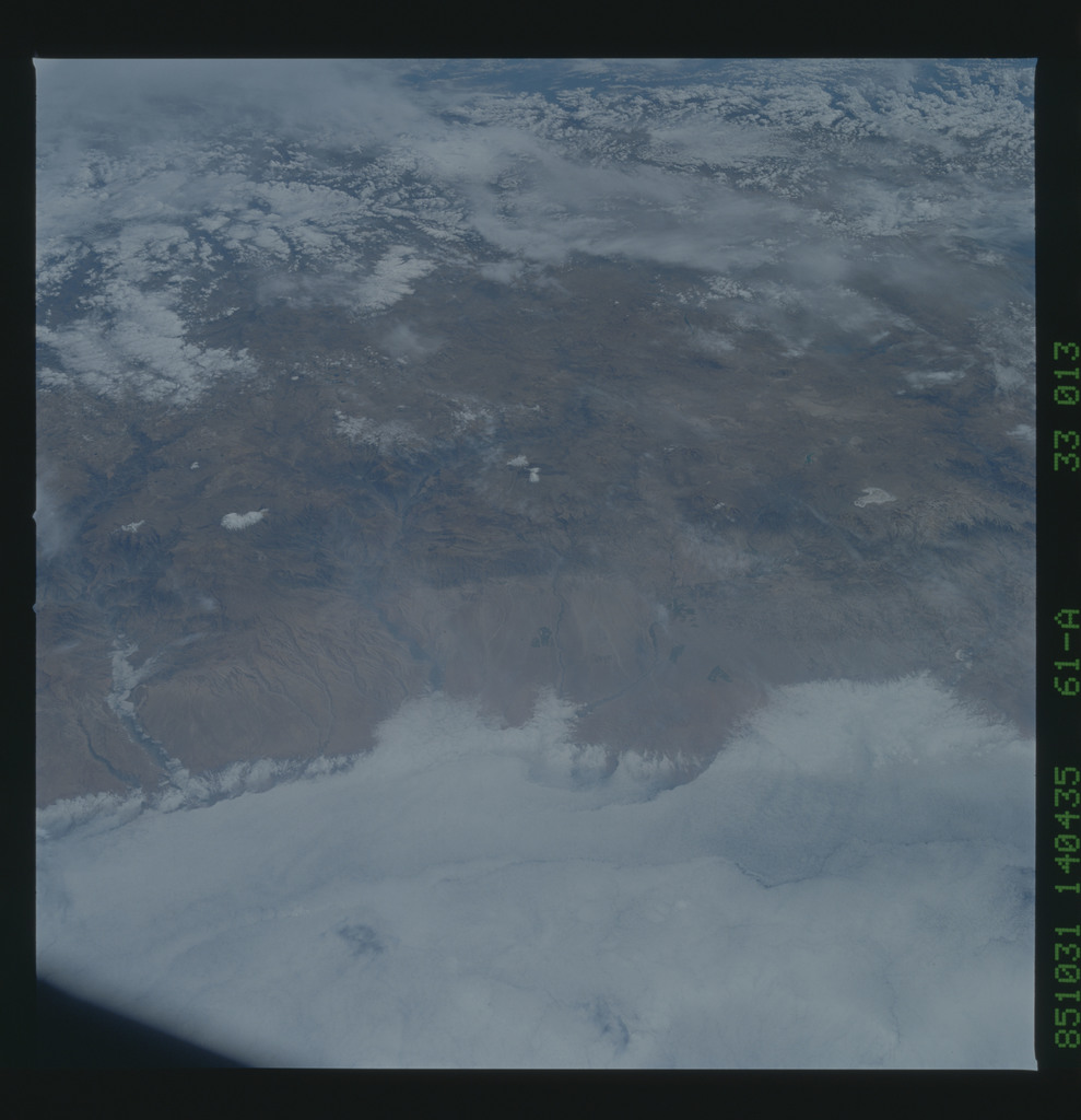 61A-33-013 - STS-61A - STS-61A earth observations