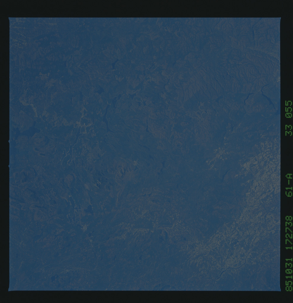 61A-33-055 - STS-61A - STS-61A earth observations