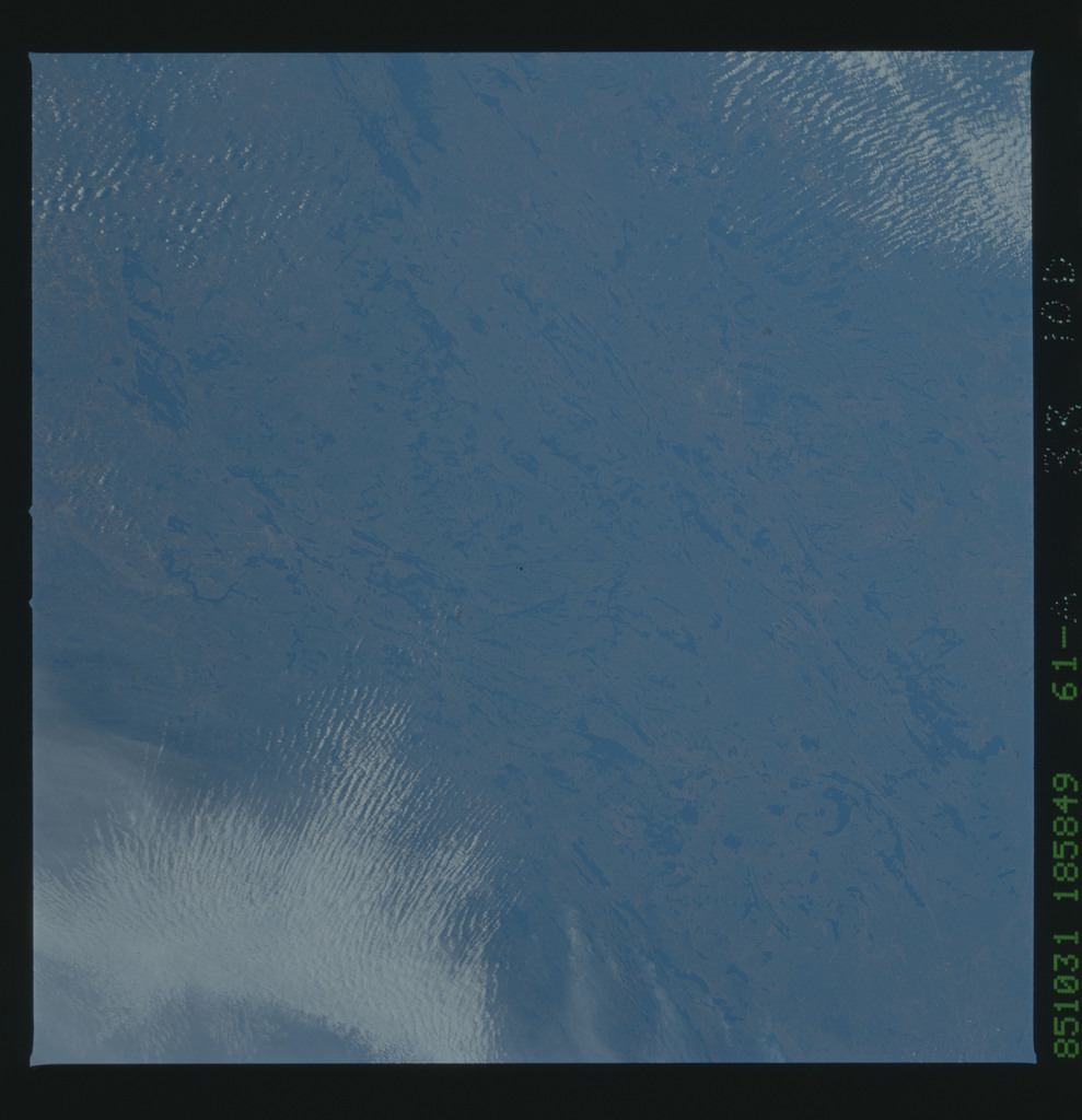 61A-33-100 - STS-61A - STS-61A earth observations