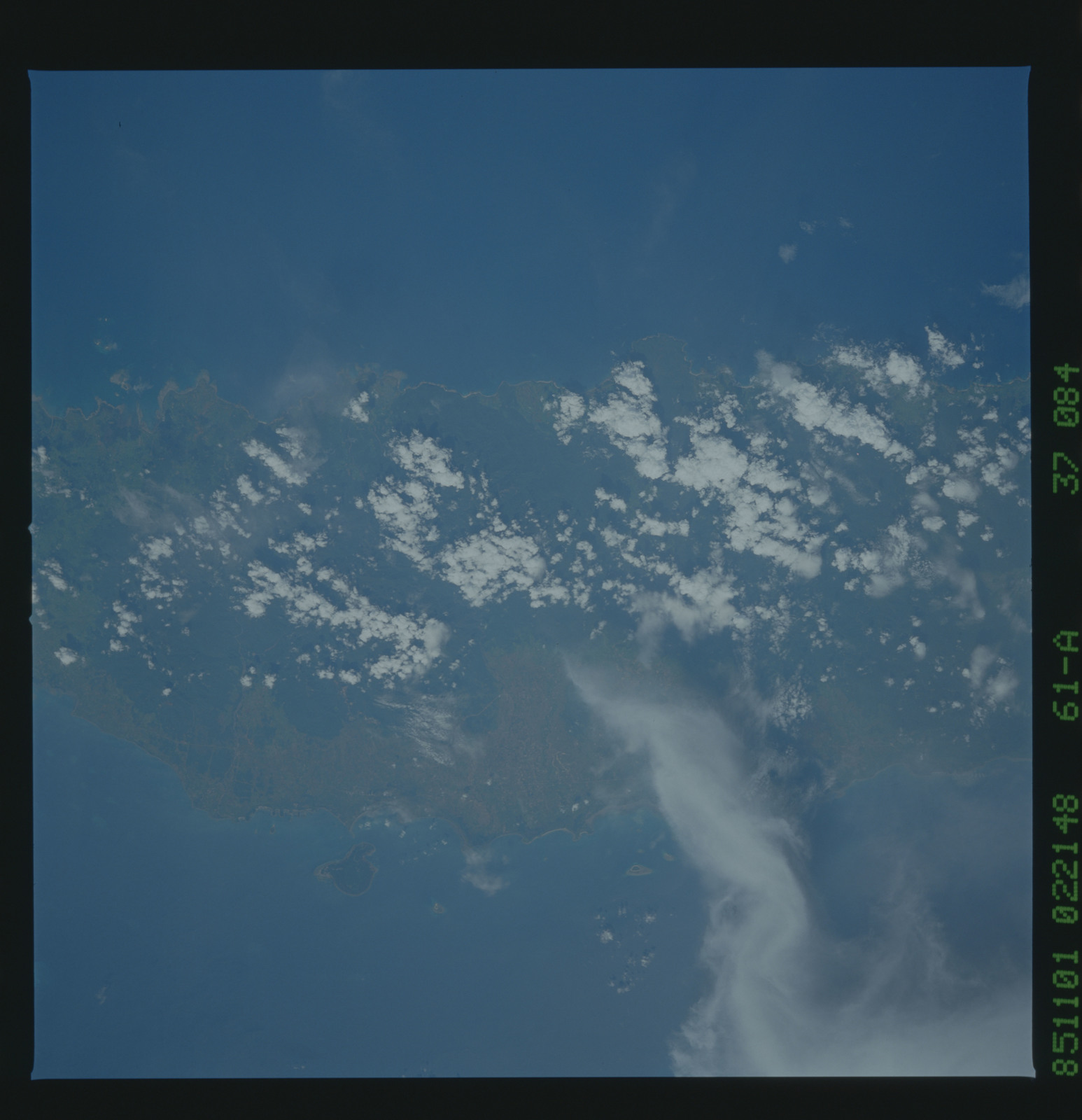 61A-37-084 - STS-61A - STS-61A earth observations