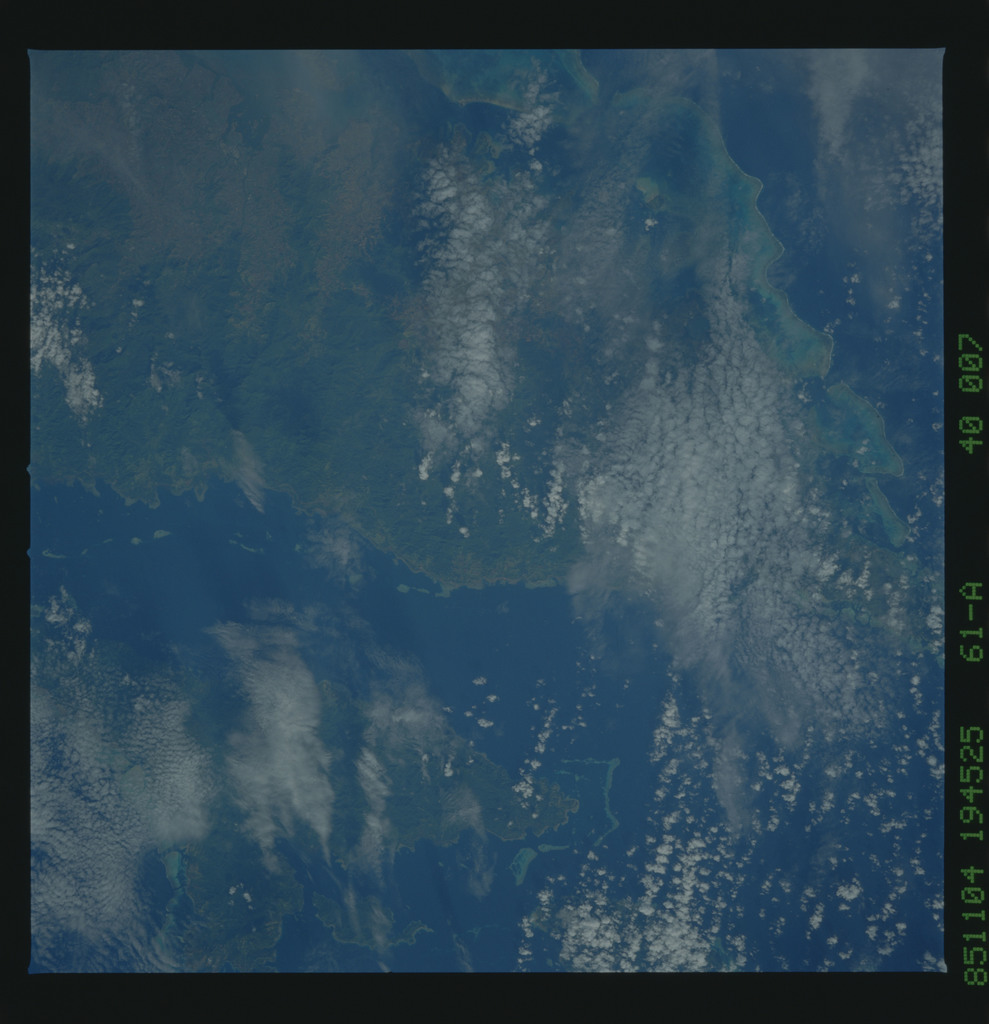 61A-40-007 - STS-61A - STS-61A earth observations