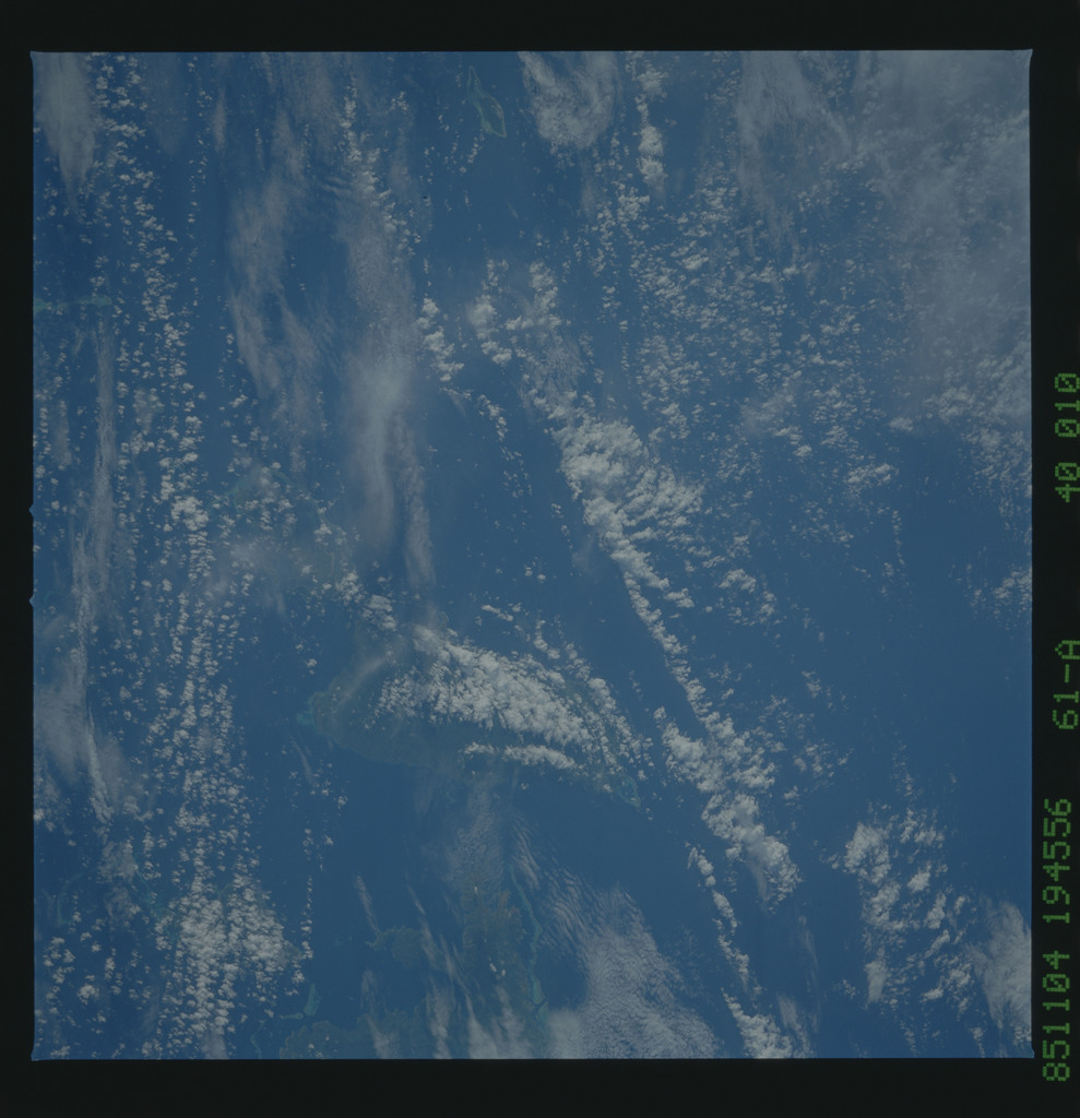 61A-40-010 - STS-61A - STS-61A earth observations