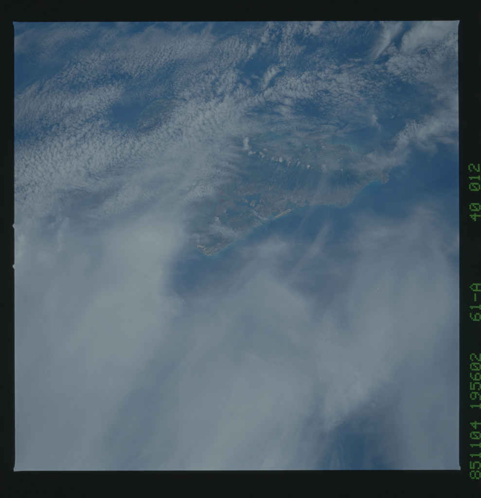 61A-40-012 - STS-61A - STS-61A earth observations