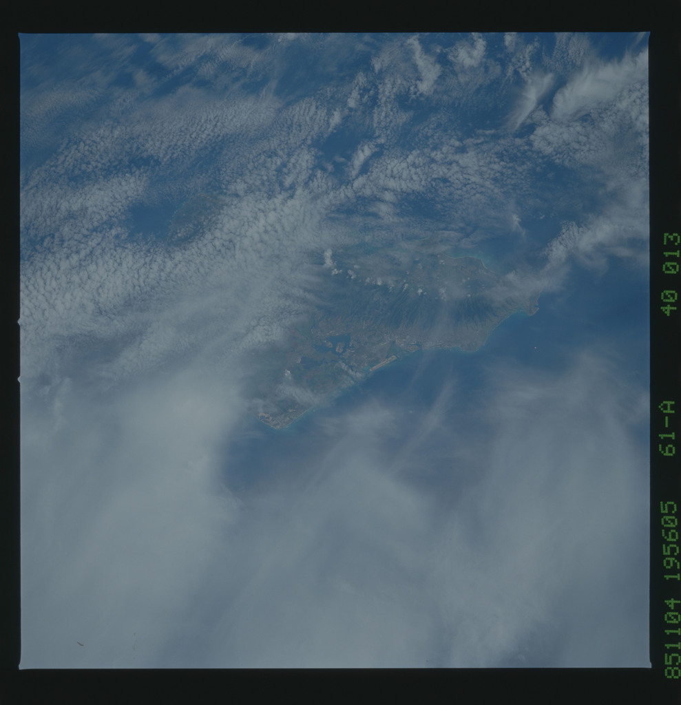 61A-40-013 - STS-61A - STS-61A earth observations