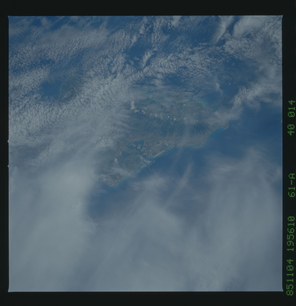 61A-40-014 - STS-61A - STS-61A earth observations